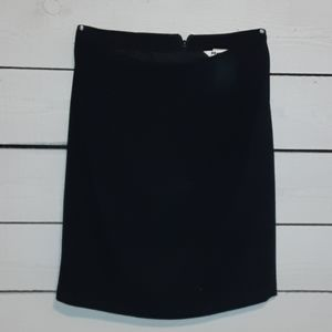 Nygard Collection lined black skirt